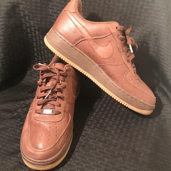 c76938dbe46 Nike Air Force 1 premium '07 Light Chocolate